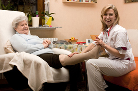 Podiatry home visits