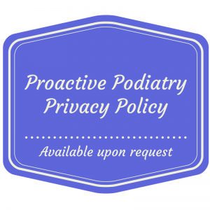 Proactive Podiatry Privacy Policy